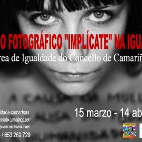"""CONCURSO FOTOGRÁFICO NAS REDES SOCIAIS """"IMPLÍCATE"""" NA IGUALDADE 2013"""